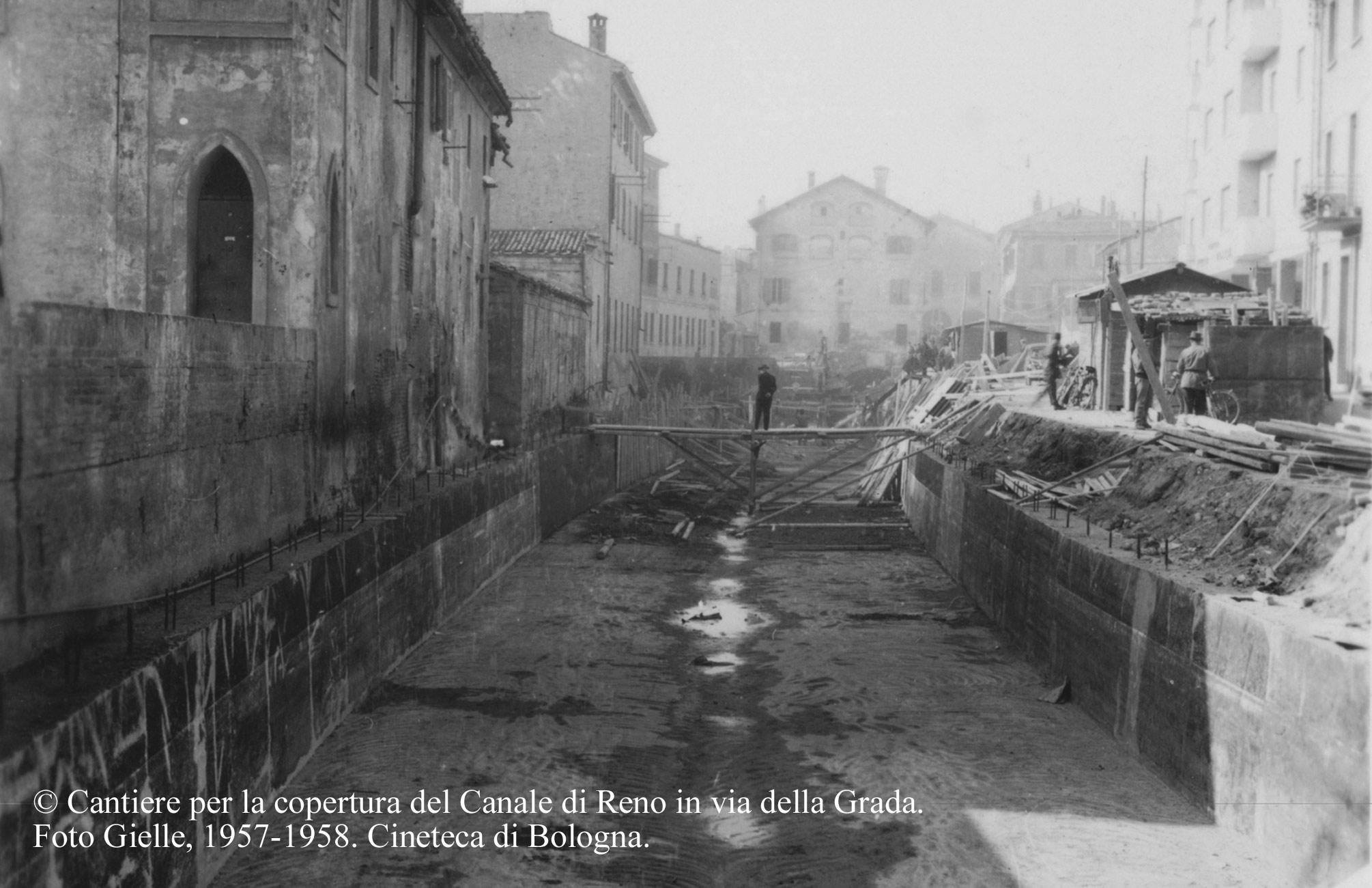 CANALI NASCOSTI a Bologna nel Novecento